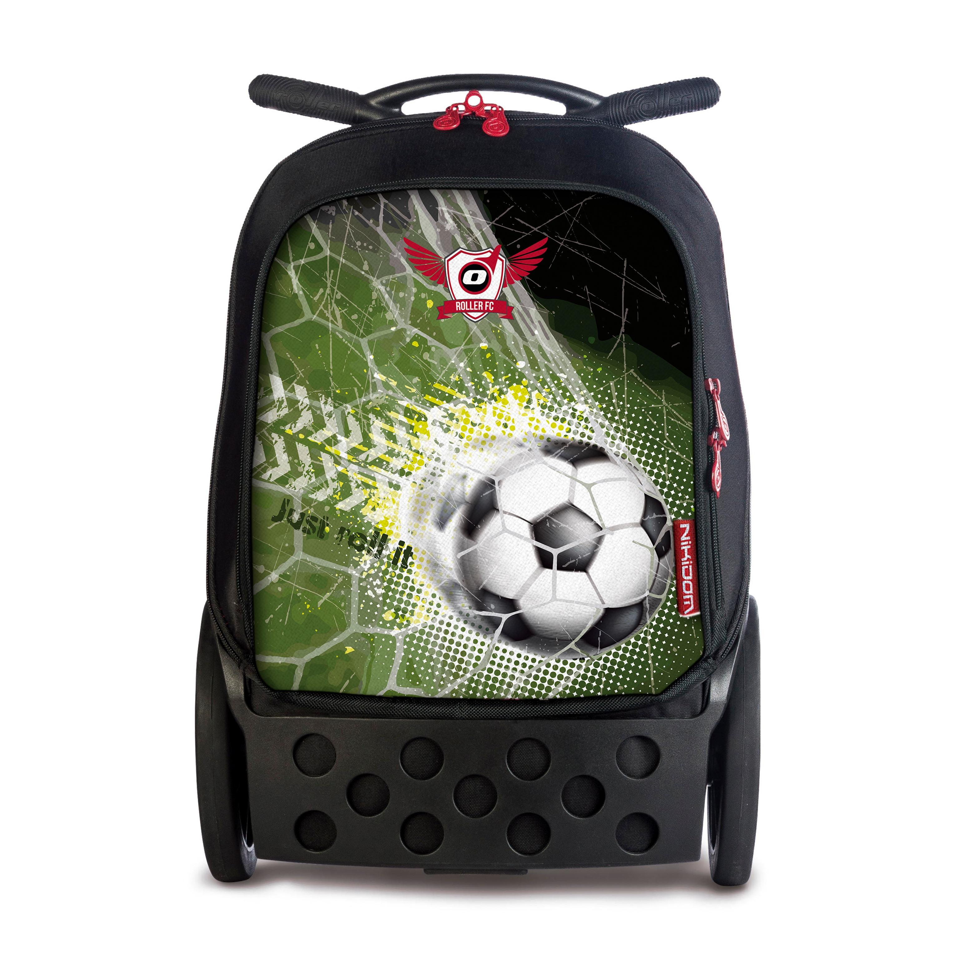 Školní taška na kolečkách Nikidom Roller XL Goal  b750801386