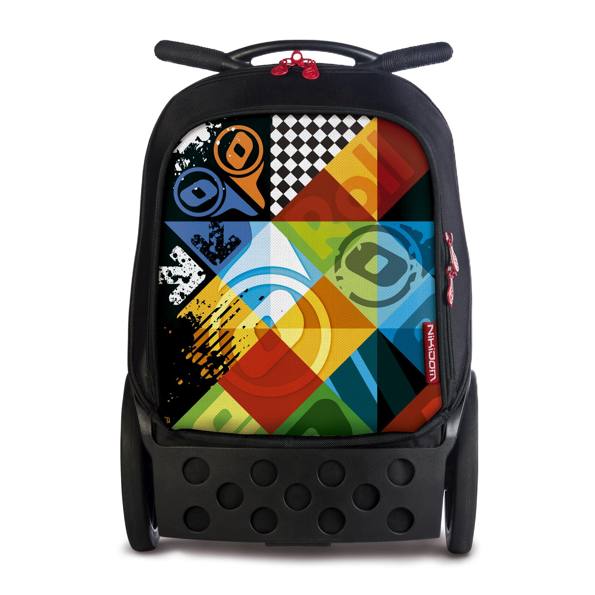 Školní taška na kolečkách Nikidom Roller XL Logomania  a672d89a15