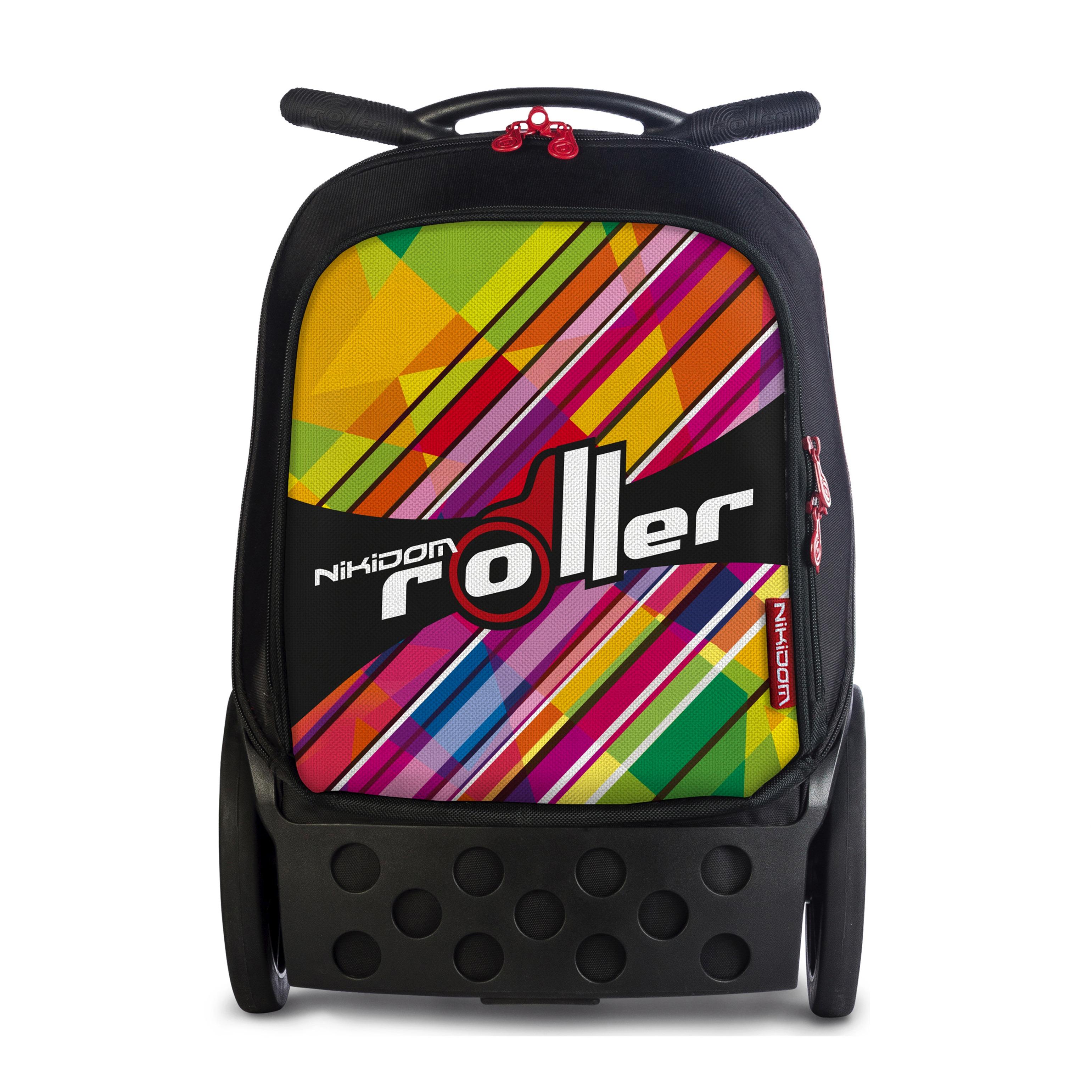 Školní taška na kolečkách Nikidom Roller XL Kaleido  f4db5ed912